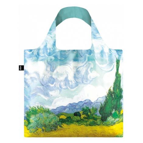 Loqi skládací eko taška Vincent Van Gogh A Wheat bField with Cypresses