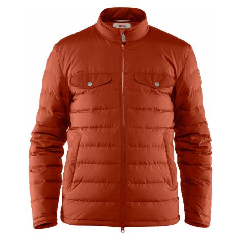 Pánská bunda FJÄLLRÄVEN Greenland Down Liner Jacket M, Autumn Leaf Fjällräven