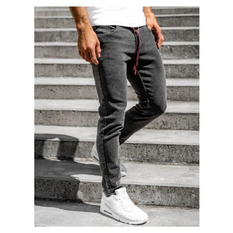 Černé pánské džíny skinny fit Bolf KX565-1 M.SARA