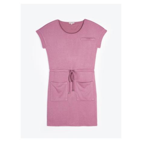 GATE Tričkové šaty s kapsami