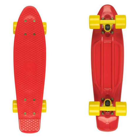 """Penny board Fish Classic 22"""" Red-Yellow"""