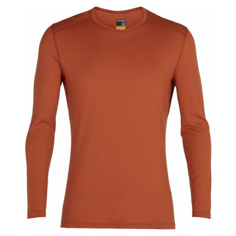 Pánské triko dlouhý rukáv ICEBREAKER Mens 200 Oasis LS Crewe, Roote