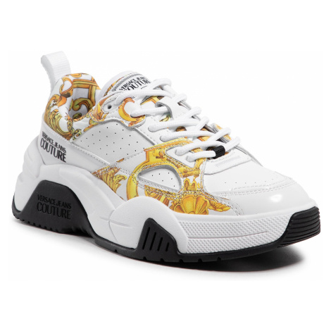 VERSACE JEANS COUTURE Fire 1 White tenisky