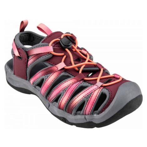 ALPINE PRO MERTO červená - Dětská letní obuv