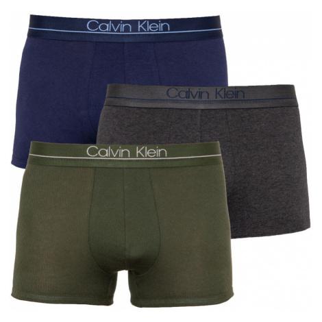 3PACK pánské boxerky Calvin Klein vícebarevné (NB2007A-NXB)