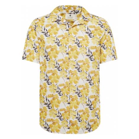 Anerkjendt Košile 'AKLEO' žlutá / bílá / černá
