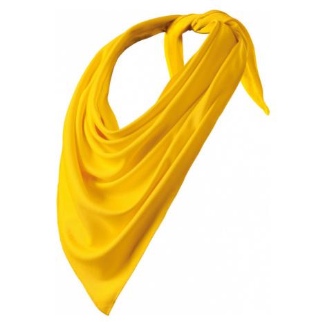 Malfini Relax Šátek 32704 žlutá UNI