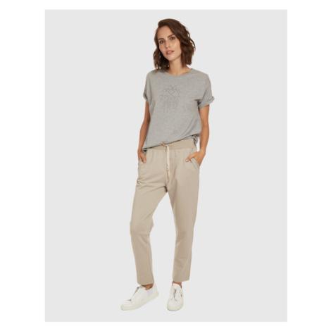 Kalhoty La Martina Woman Jogging Pants Stretch Co - Šedá