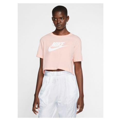 Essential Crop top Nike Růžová