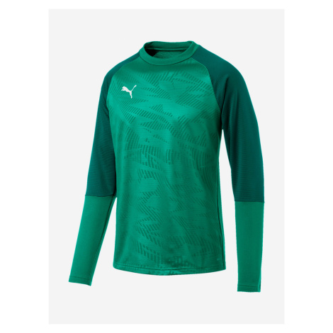 Mikina Puma Cup Training Sweat Core Zelená