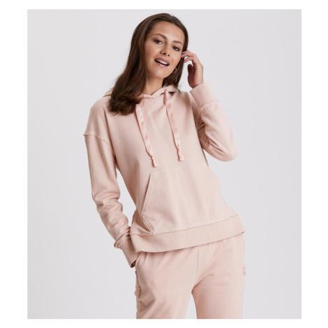 Mikina Odd Molly Soft Tracks Sweater - Růžová