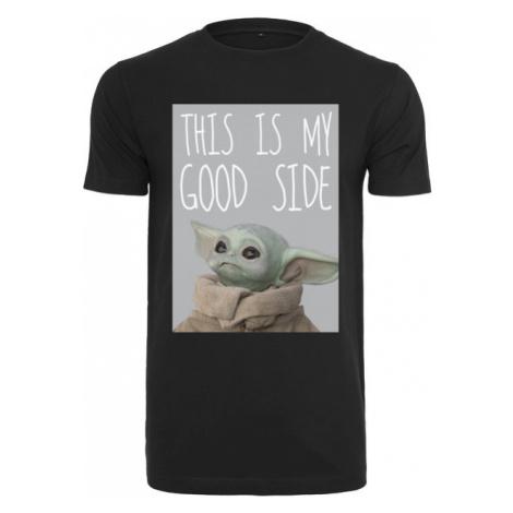Mr. Tee Baby Yoda Good Side Tee black