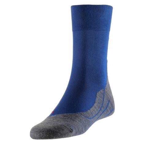 FALKE Sportovní ponožky 'RU4' modrá / šedý melír