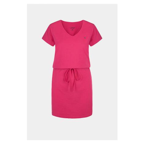 Dámské růžové šaty LOAP Blanka