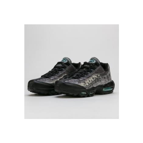 Nike Air Max 95 black / black - aurora green