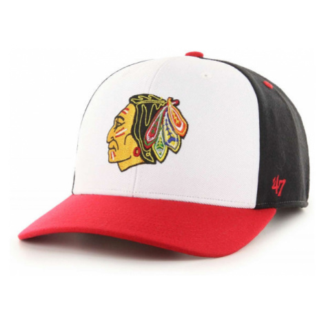 47 NHL CHICAGO BLACKHAWKS COLD ZONE '47 MVP DP BLK - Kšiltovka