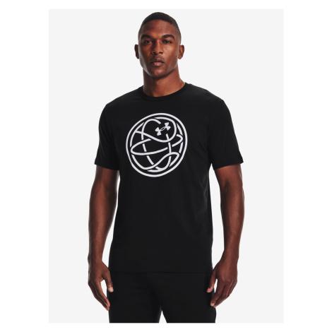 Hoops Logo Triko Under Armour Černá