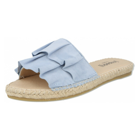 Espadrij l´originale Pantofle světlemodrá