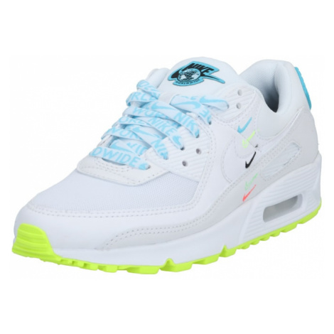 Nike Sportswear Tenisky 'Air Max 90' světlemodrá / bílá