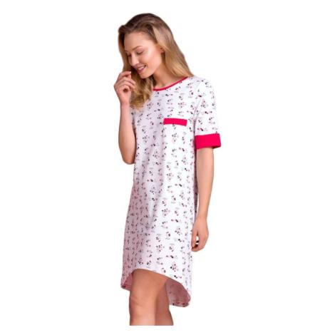 Bavlněná noční košile Klaudie pejsci Passion