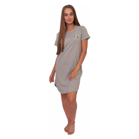Women´s nightgown CK ONE gray (QS6358E-020) Calvin Klein