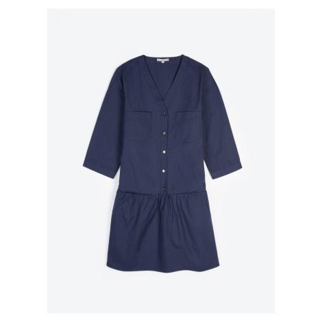 GATE Košilové šaty s kapsami