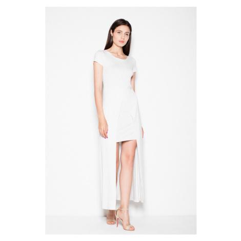 Světle šedé šaty VT056 Venaton