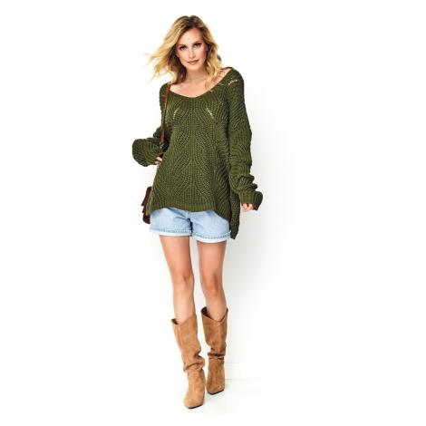 Makadamia Woman's Sweater S79 Khaki
