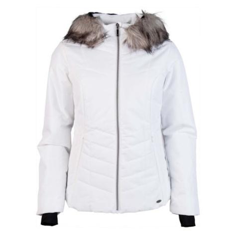 Willard WENNA bílá - Dámská prošívaná lyžařská bunda