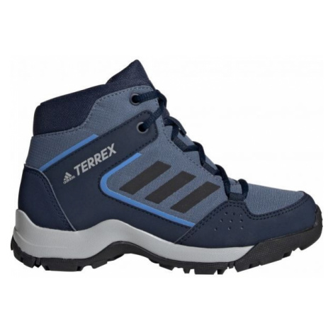 adidas HYPERHIKER K tmavě modrá - Dětská outdoorová obuv