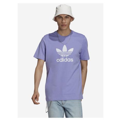 Trefoil Triko adidas Originals Fialová