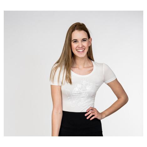 Bílé tričko - VERSACE JEANS