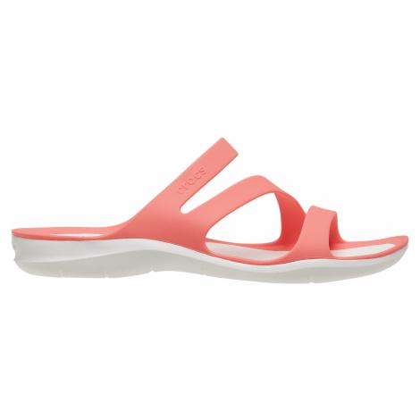 Dámské sandály Crocs SWIFTWATER broskvová