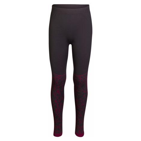 ALPINE PRO KRATHIOSO 4 Dětské spodní kalhoty KUNP016450 virtual pink