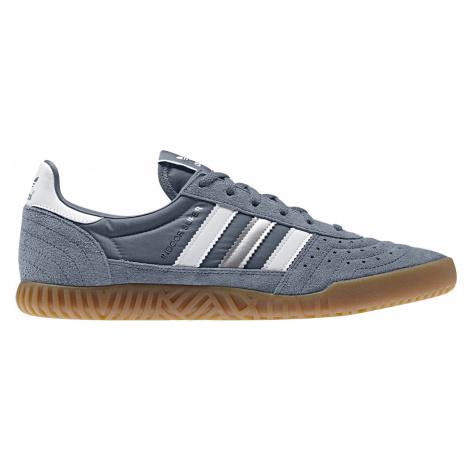 Adidas Indoor Super Raw Steel S18 šedé BD7625