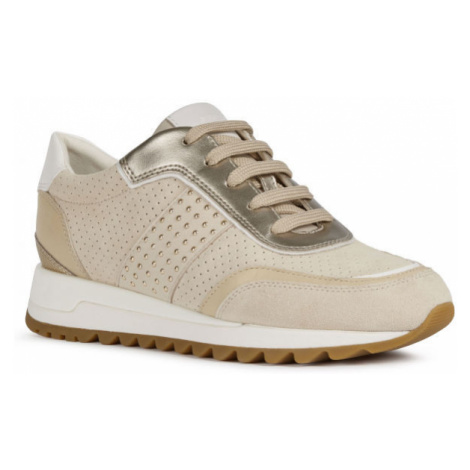 Geox D TABELYA A béžová - Dámská volnočasová obuv