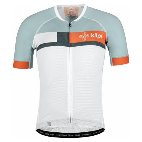 Pánský cyklistický dres KILPI TREVISO bílá