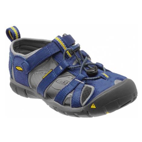 Dětské sandály Keen Seacamp II CNX Youth blue depths/gargoyle