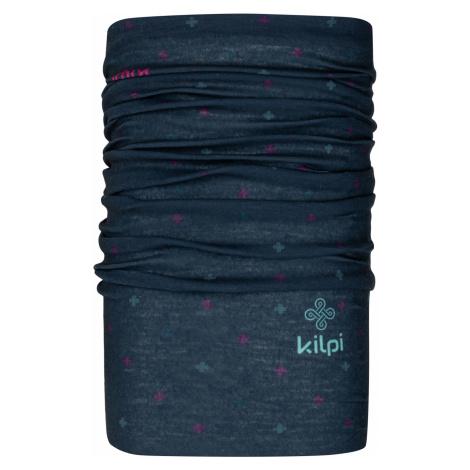 KILPI Multifunkční šátek DARLIN-U NU0026KIDBL Tmavě modrá UNI