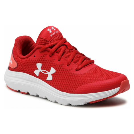 Boty UNDER ARMOUR - Ua Gs Surge 2 3022870-603 Red
