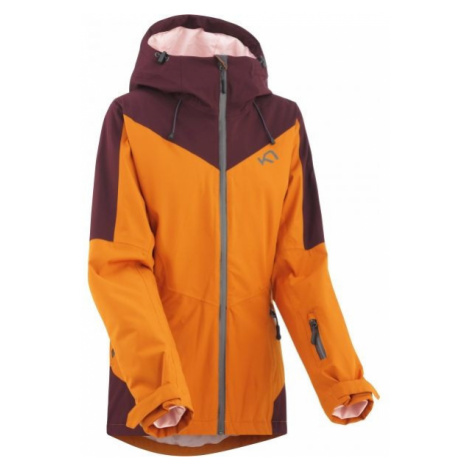 KARI TRAA BUMP oranžová - Dámská lyžařská bunda
