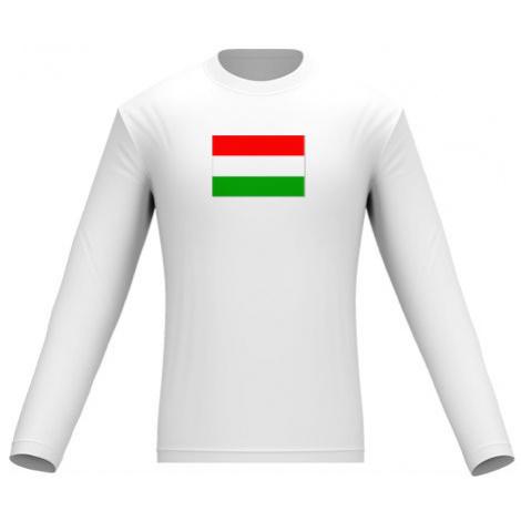 Pánské tričko dlouhý rukáv Maďarsko