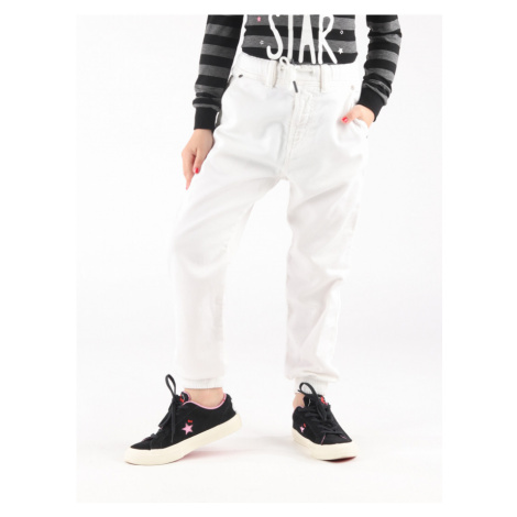 Kalhoty Diesel Narrot-Ne-J Jjj Pantaloni Bílá