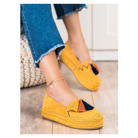 COURA ZMSE ESPADRYLE WITH TASSELS