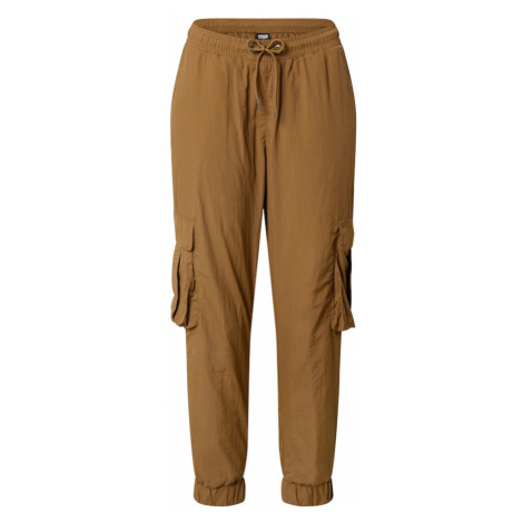 Urban Classics Kalhoty hnědá