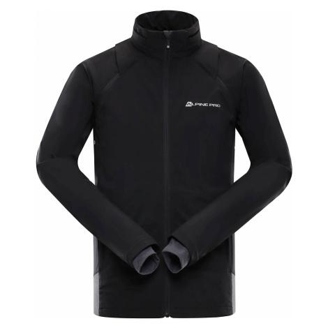 Pánská softshellová bunda Alpine Pro CHENG - černá