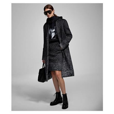 Mikina Karl Lagerfeld Karl X Carine Oversized Hoodie - Černá