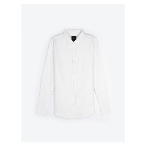 GATE Jednoduchá bavlněná oxfordská košile slim fit