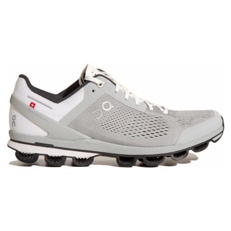 Běžecké boty On Running CLOUDSURFER WOMAN bílá šedá