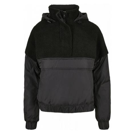 Ladies Sherpa Mix Pull Over Jacket Urban Classics